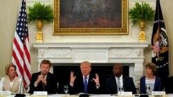 က်န္းမာေရးေစာင့္ေရွာက္မႈ ဥပေဒျပင္ဖို႔ Reupblican အမတ္ေတြကို Trump ဖိအားေပး