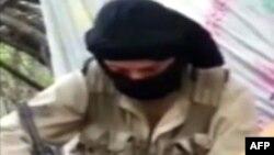 Un combattant du groupe Jund al-Khilafa