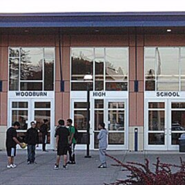 Woodburn High School in Woodburn, Oregon