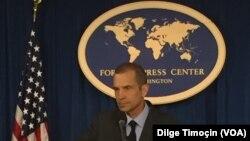 Juru bicara Departemen Luar Negeri Amerika, Mark Toner.