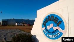 Bangunan pabrik Peanut Corporation of America di Blakely, Georgia, 2009, yang sekarang ditutup.