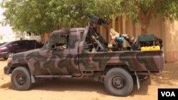 L'armée à Diffa, niger, 25 mars 2015.