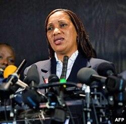 Bà Nafissatou Diallo, người hầu phòng đã tố cáo Cựu tổng giám đốc IMF tấn công tình dục bà khi bà vào phòng ông dọn dẹp