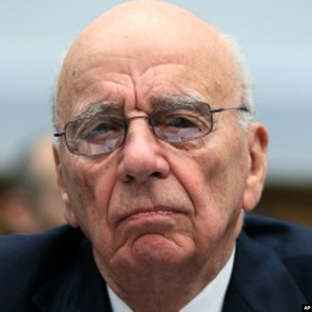 FILE - Rupert Murdoch, chairman and CEO of News Corp.