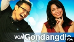 Edo Dapat Award Film AS - VOA Gondangdia