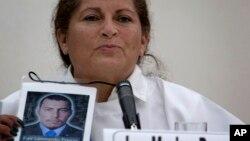 Luz Marina Bernal fue una de las víctimas del conflicto armado colombiano que habló en La Habana.