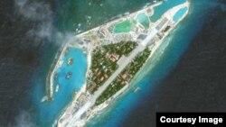 美國智庫發表圖像顯示越南在南中國海斯普拉特利群島加建跑道