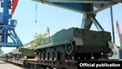 Rusiyadan hərbi texnika gətirilib