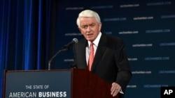 Thomas Donohue, presidente y director ejecutivo de la Cámara de Comercio de Estados Unidos.