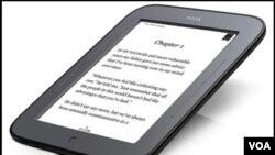 La nueva tableta de Barnes & Noble llamada Nook espera poder competir contra la Kindle de Amazon.
