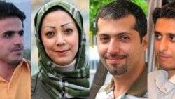 از راست: محمد شفیعی، هادی حیدری، فاطمه عرب سرخی، علیرضا طاهری