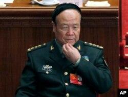 2012年3月9日郭伯雄在北京参加人大会议