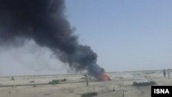 سقوط هواپیمای آموزشی اف ۴ ارتش ایران در سیستان و بلوچستان
