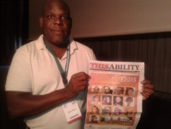 Zimbabwean Uses Media To Change Perception Of Disability