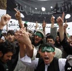 美國軍人在阿富汗殺害平民事件後3月13日的反美示威