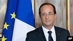 프랑수아 올랑드 프랑스 대통령.