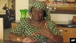 Luísa Diogo, ancienne Première ministre du Mozambique.