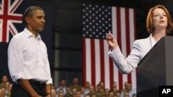 Обама го поздрави сојузот меѓу САД и Австралија