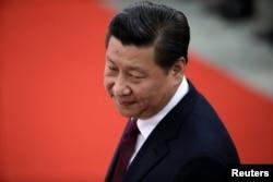 中国国家主席习近平在人民大会谈(资料照)