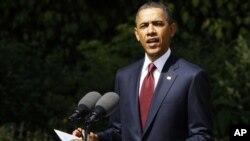 امریکی عوام طوفان سے متاثرہ افراد کے ساتھ ہے: اوباما