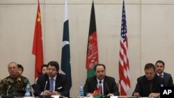 دومین دور نشست گروه هماهنگی چهار جانبه در کابل برگزار شد.