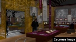 An artist's rendering of the history floor for the Museum of the Bible in Washington, D.C. (Photo: Museum of the Bible)