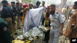 2008 میں لاہور میں نیول کالج پر خودکش حملہ ہوا