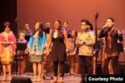 Elfa's Singers di Konser 'Pulau' di Washington, DC (Dok: Wirawan Pandji Ismudjatmiko)
