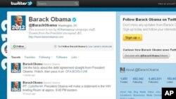奥巴马总统的推特