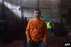 Rohingya activist Mohib Ullah