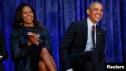 El expresidente de EE.UU. Barack Obama y su esposa Michelle Obama, producirán podcasts en Spotify.