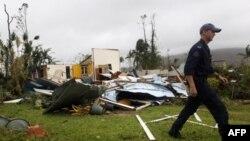 Uništeni domovi u gradu Tuli u australijskoj državi Kvinslend