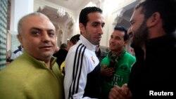 L'Egyptien Mohamed Aboutrika à Agadir, le 13 décembre 2013.