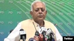 ہوابازی کے وفاقی وزیر، غلام سرور خان