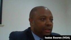 Avantino Sebastião, director provincial da Saúde em Malanje, Angola