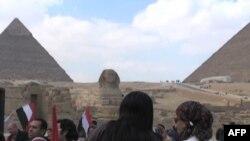 Quang cảnh gần một trong những địa điểm du lịch thu hút du khách hàng đầu ở Ai Cập