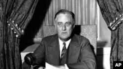 4선 대통령 프랭클린 루즈벨트 (1)