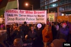 Ferguson protest in Washington DC