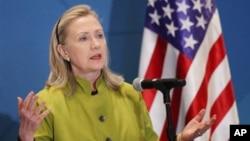 Menteri Luar Negeri Amerika Serikat, Hillary Clinton (Foto: dok).