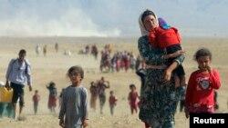 د داعیش وسلوالو له وېرې تښتیدلي عراقي مهاجر