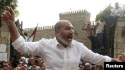Pemerintah sementara Mesir terus menekan partai presiden terguling Mohamed Morsi, Ikhwanul Muslimin. Ulama Safwat Hegazy dilaporkan telah ditahan dekat perbatasan Libya (Foto: dok).