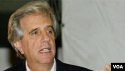 """Vázquez ya le había ofrecido a Bolivia el acceso a uno de los puertos como un """"acto solidario"""", según le dijo a La República."""