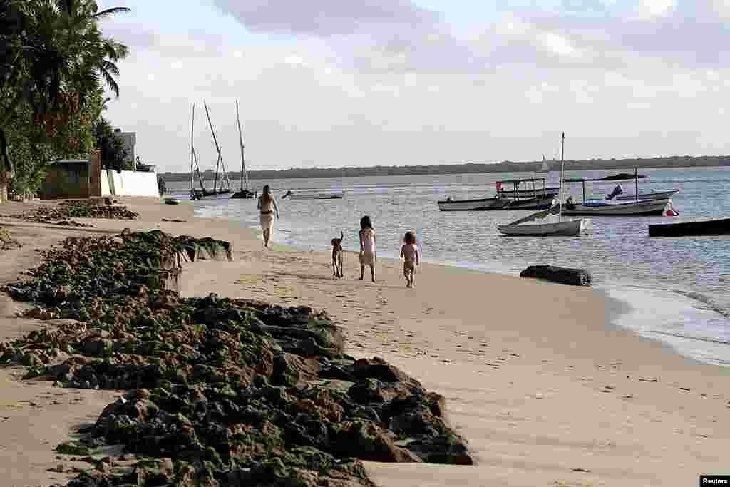 روستای کیوایو در جزیره لامو یکی از مکانهای گردشگری کنیاست.