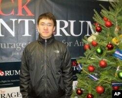 伊利诺伊大学的中国留学生张越