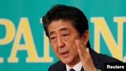 شینزو آبه نخست وزیر ژاپن - آرشیو