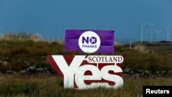 Scottish Referendum on Independence - September 14, 2014