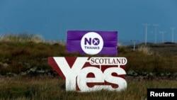 Scottish Referendum on Independence - September 14, 2014