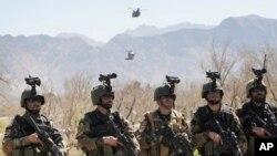 کماندوها کارآ ترین نیروی قوای مسلح افغانستان خوانده شده است