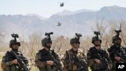 چارواکي وايي دا ځواکونه به په ټول افغانستان کې د ترویزم د ځپلو عملیات کړي.