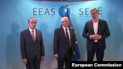 Nga takimi Kosovë - Serbi më 16 korrik në Bruksel